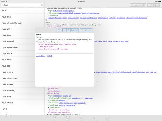 MDict iPad Screenshot 1