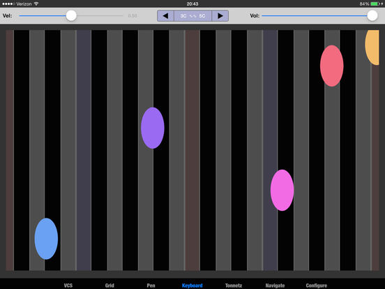 Kyma Control iPad Screenshot 4