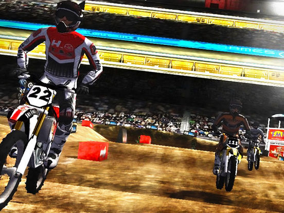 2XL Supercross HD iPad Screenshot 5