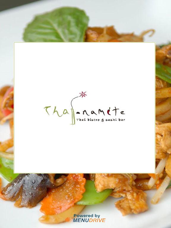 App shopper thai namite bistro sushi bar food drink for Amante italian cuisine deerfield