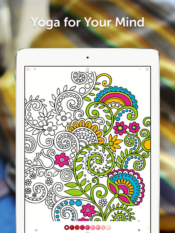 recolor coloring book for adults screenshot - Coloring Book App For Adults