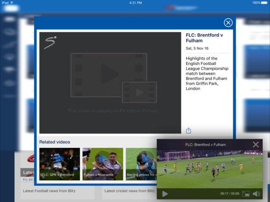 SuperSport.com iPad Screenshot 3