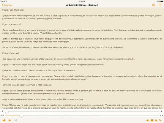 Yo Quiero Ser Cómico - AudioEbook iPad Screenshot 1