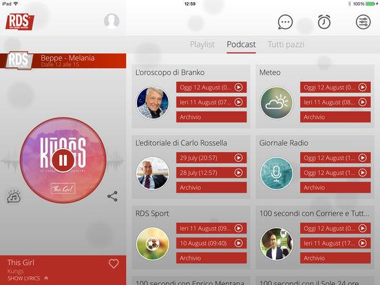 RDS iPad Screenshot 2