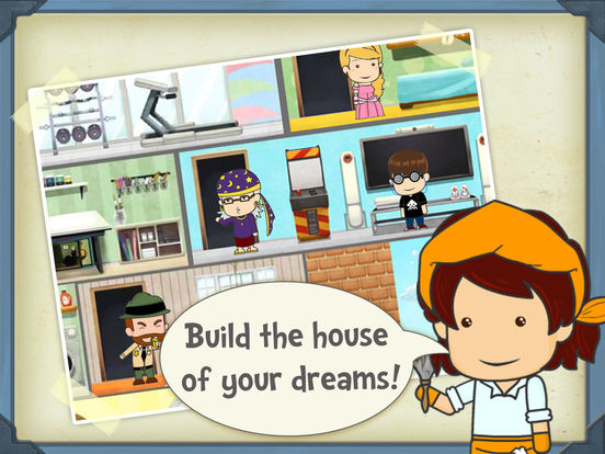 Pocket family my fun virtual dream home for girls apppicker for Build dream home online for fun