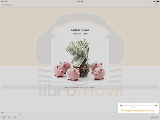 Las Reglas del Juego del Dinero - Audiolibro iPad Screenshot 2