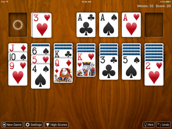Real Solitaire Free for iPad iPad Screenshot 3