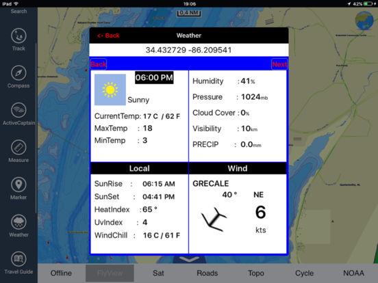 Marine: Michigan & Superior Lakes HD iPad Screenshot 4