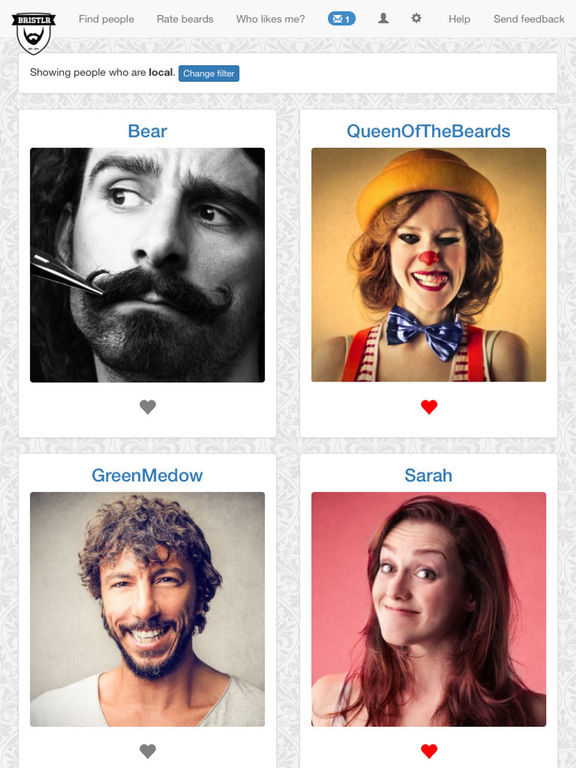 bristlr beard dating site How a joke dating app for bearded men became an  beard -lovers, bearded  what's intriguing is that while mainly used for dating, bristlr's purpose is pretty.