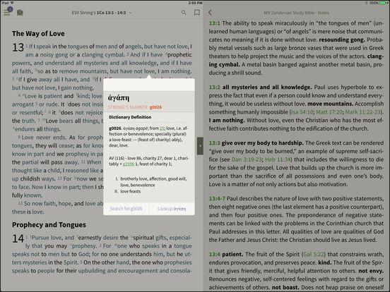 ESV Study Bible for BibleReader iPad Screenshot 2