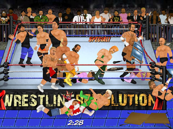 Скачать игру Wrestling Revolution HD