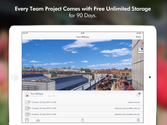 Cortado Workplace iPad Screenshot 3