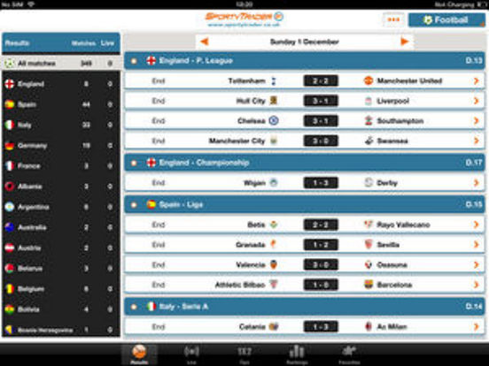 App Shopper: Live Scores HD