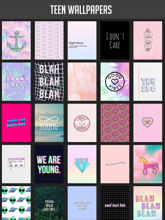 Teen Wallpapers On The App Store HD Wallpapers Download Free Images Wallpaper [1000image.com]