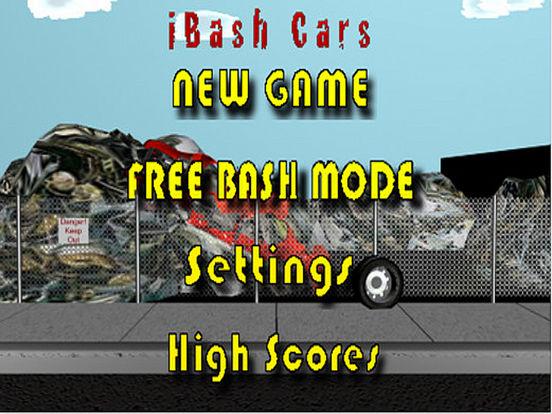 iBash Cars Lite iPad Screenshot 1