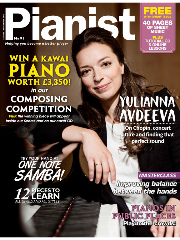 Pianist the only piano magazine you can read listen for Watch magazine customer service