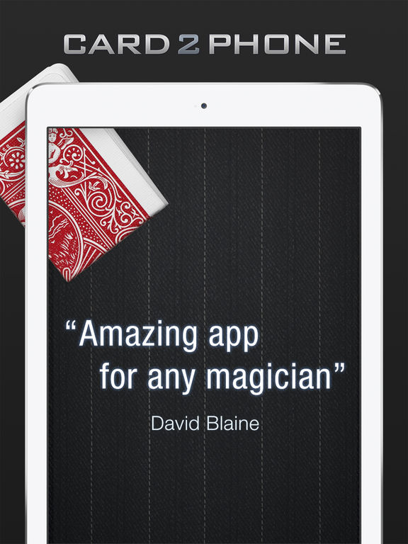 Card2Phone - Magic Trick screenshot
