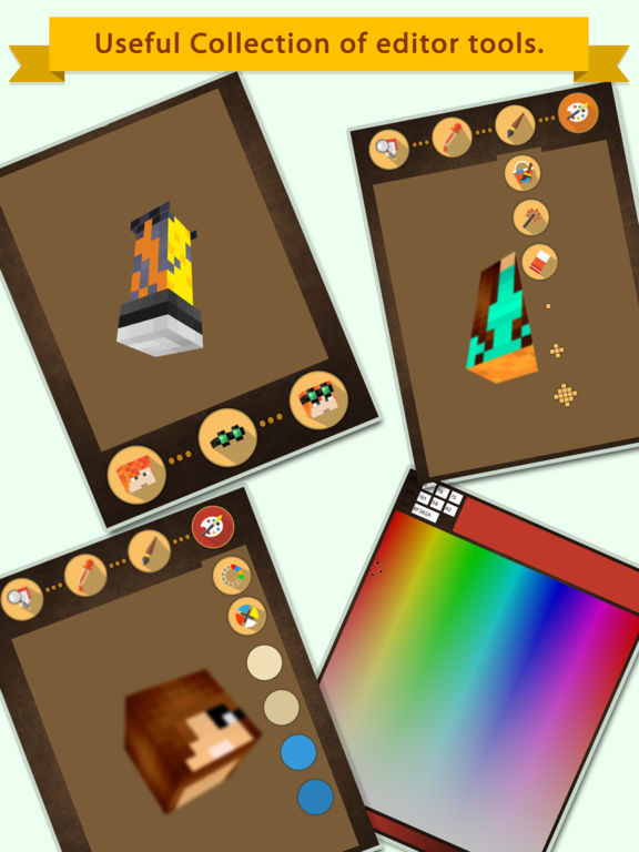 App Shopper 3d Girl Skin Editor For Minecraft Pe Pc Games