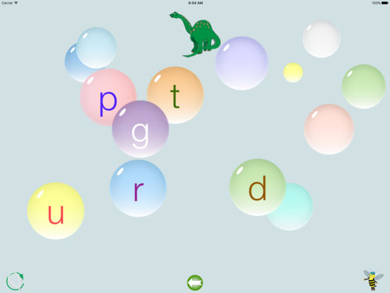 Bubble Phonics iPad Screenshot 2