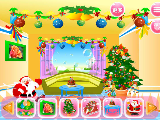 App shopper room decor santa christmas girl games games for Xmas room decor games