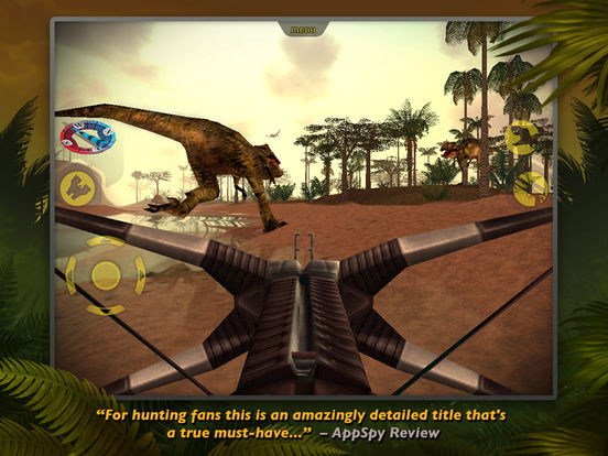 Carnivores: Dinosaur Hunter LE iPad Screenshot 4