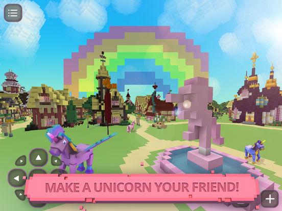 App shopper unicorn craft crafting building game for for Crafting and building app store