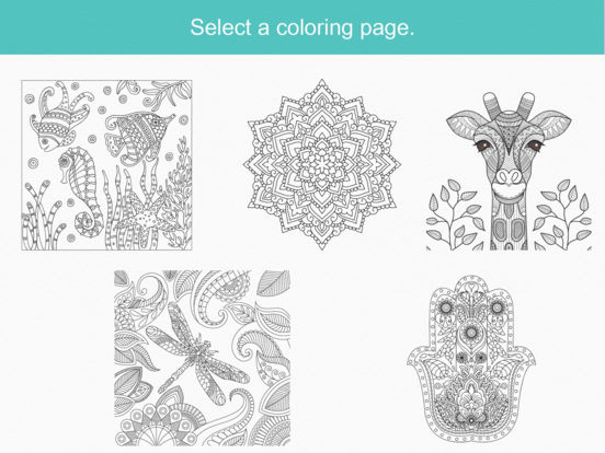 Zen coloring book for adults on the app store Zen coloring book for adults download