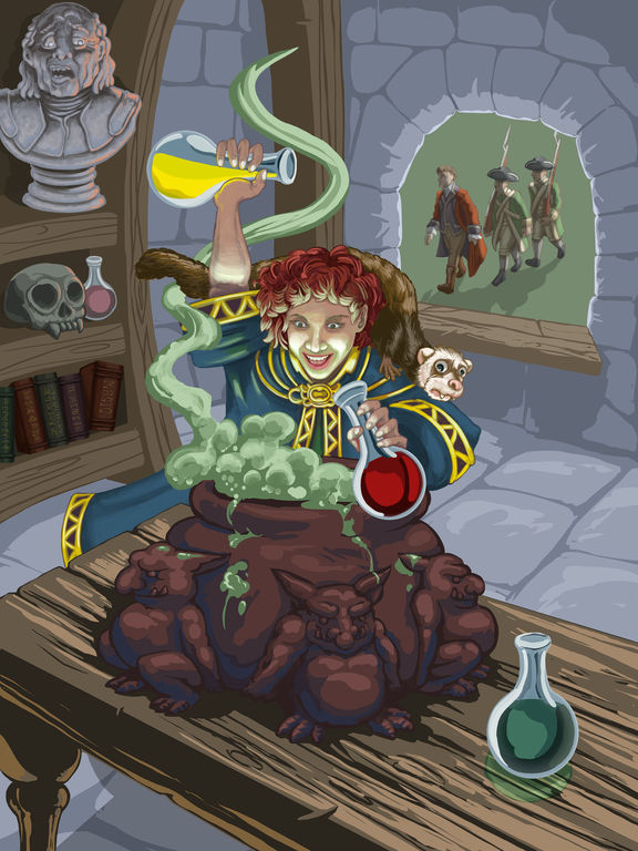 Sorcery Is for Saps на iPad