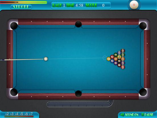 Ball Billiards – 3D Pool Master, 8 Ball Free Game iPad Screenshot 3