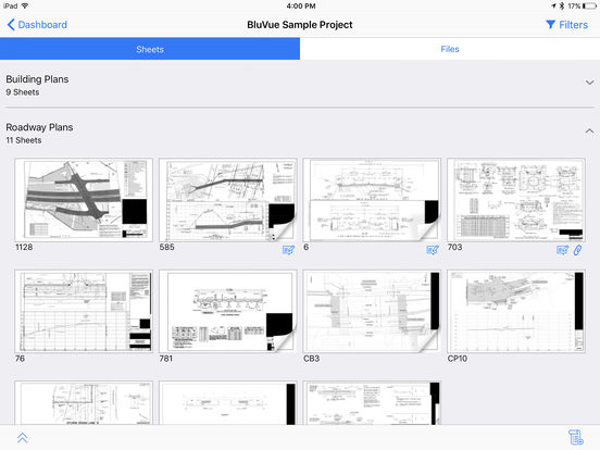 BluVue Plans Drawing Collaboration & Markup screenshot