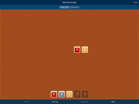 Audio Collins Mini Gem English-French & French-English Dictionary iPad Screenshot 4