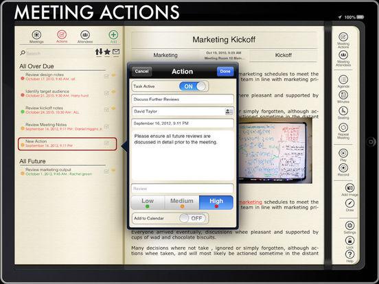 Meeting Pad iPad Screenshot 3