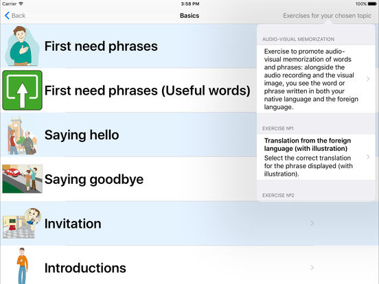 Language Coach iPad Screenshot 2