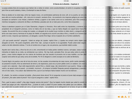 El Genio de la Botella - AudioEbook iPad Screenshot 1