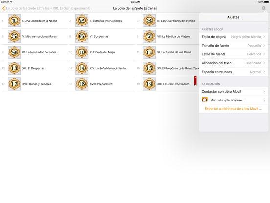 La Joya de las Siete Estrellas - Bram Stoker iPad Screenshot 2