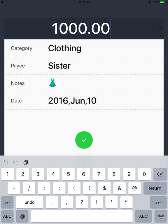 Daily Expense Tracker HD -Monthly Spending Tracker on the App Store