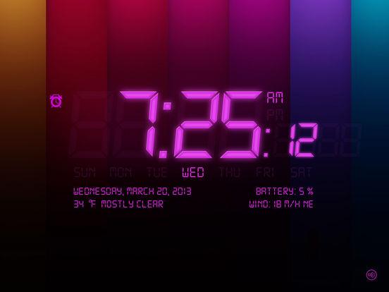 Alarm Clock 4 Free iPad Screenshot 3