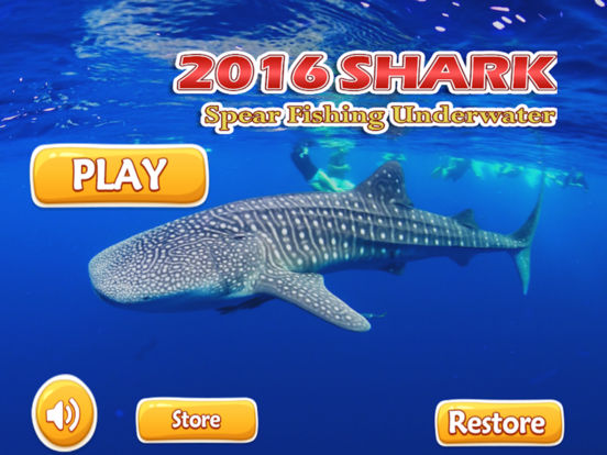 Sharks spear fishing underwater shark evolutions review for Shark fishing games