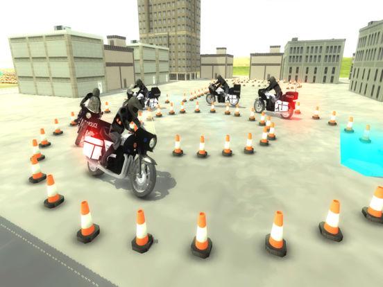 Police Motorcycle Training : 911 School Academy для iPad