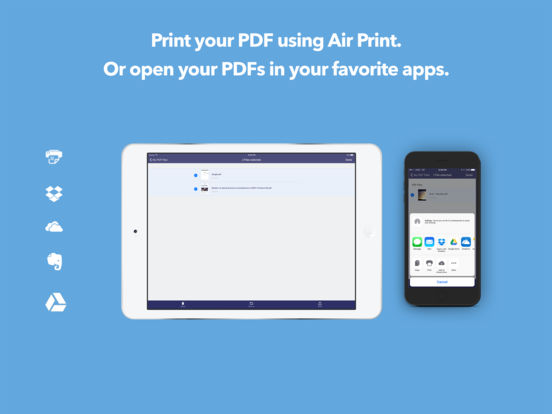 PDF it All: Scanner, PDF Printer and Converter Screenshots