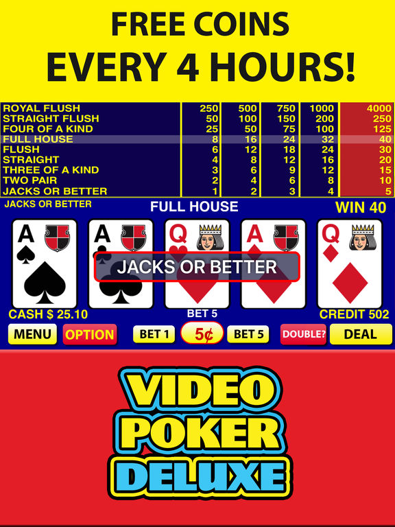 casino play online free poker 4 of a kind