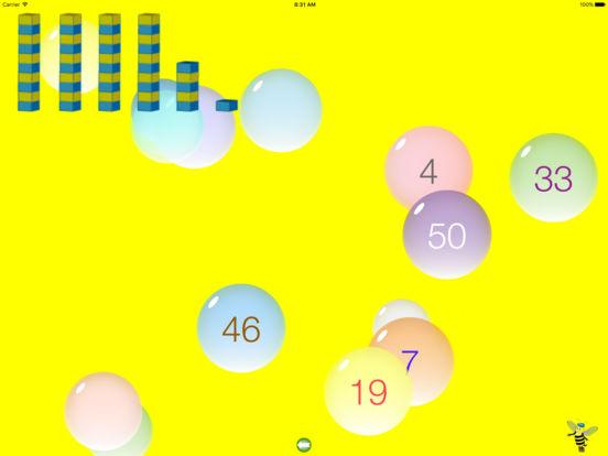 Bubble 123 iPad Screenshot 1