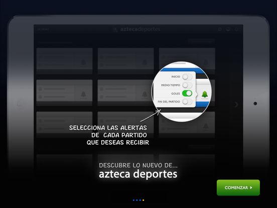 Azteca Deportes iPad Screenshot 3