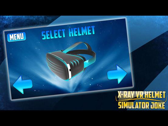 Рентген VR Шлем Симулятор Шутка для iPad