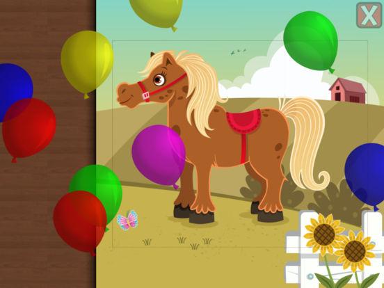 Пазлы с животными для детей образовательная версия