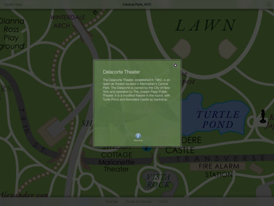 Discover Central Park HD iPad Screenshot 4