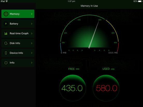 Screenshot #1 for System Activity Monitor - Battery, Free Memory