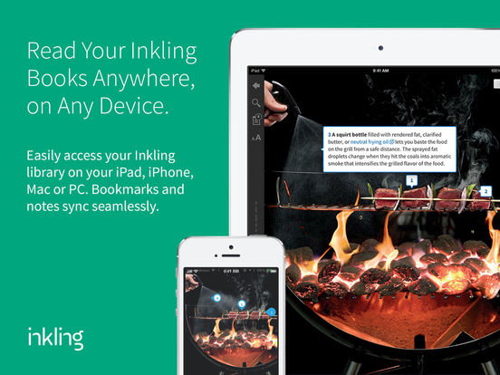 Inkling - Read Interactive Books, eBooks, Textbooks, and How-To Guides on iPad, iPhone, Mac and PC screenshot