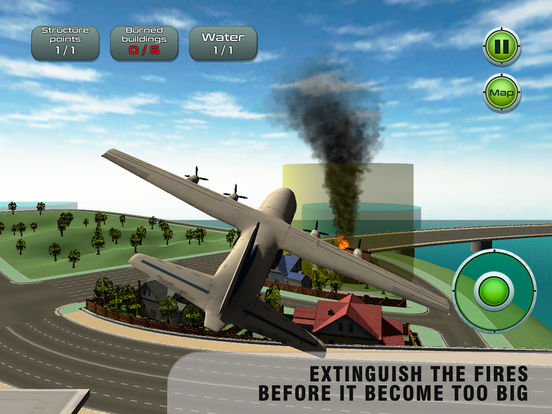 Airplane Emergency Firefighter Simulator Full screenshot 6