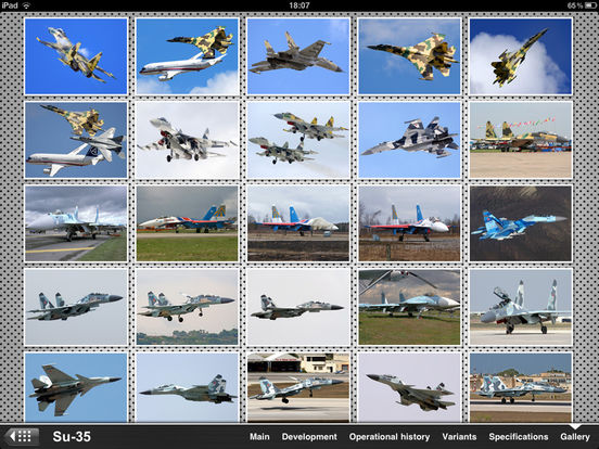 Russian Military Aircraft Appreciate Guide iPad Screenshot 4